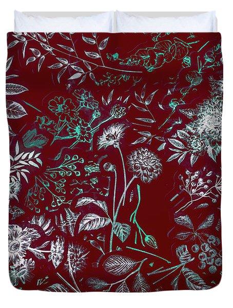 Exotic Harmony Duvet Cover
