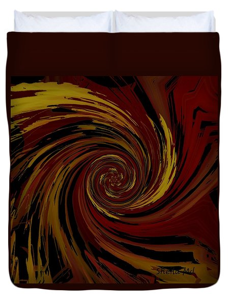 Explosion  Crossroad  Duvet Cover