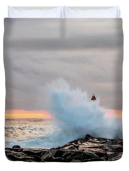 Explosive Sea 2 Duvet Cover