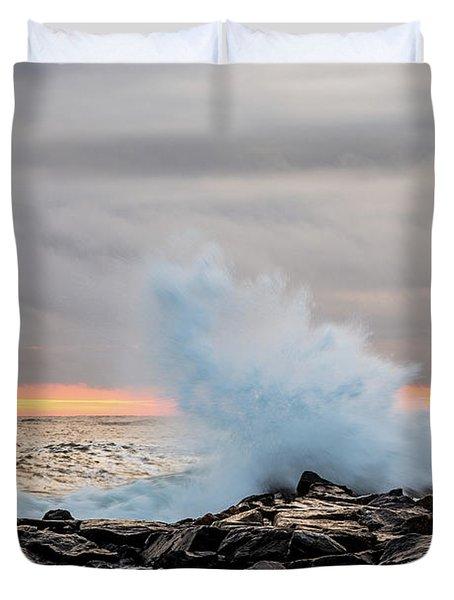 Explosive Sea 3 Duvet Cover