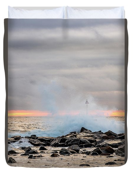 Explosive Sea 5 Duvet Cover