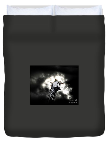Eye In The Sky Duvet Cover