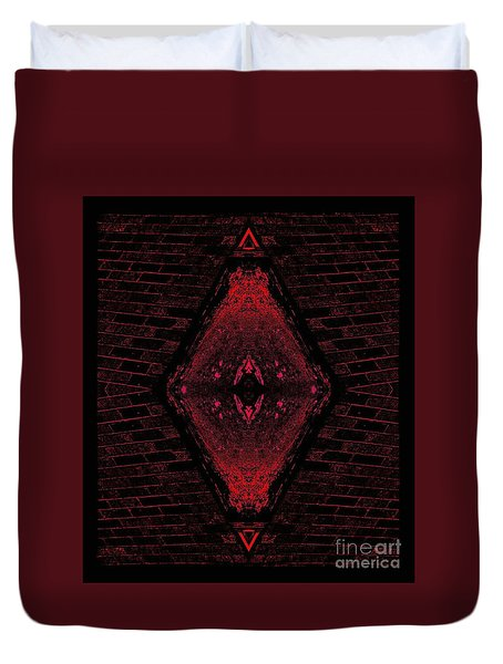 Eye Of Time Duvet Cover