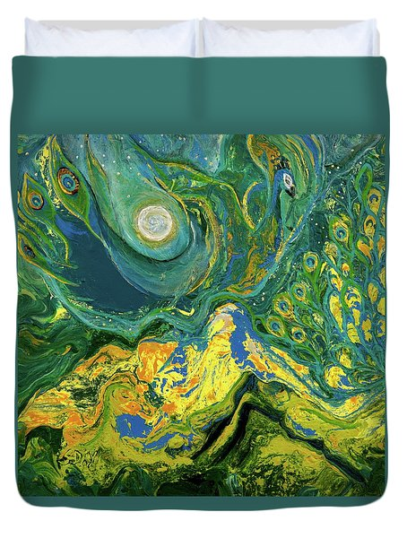 Eyes Of The Stars Duvet Cover