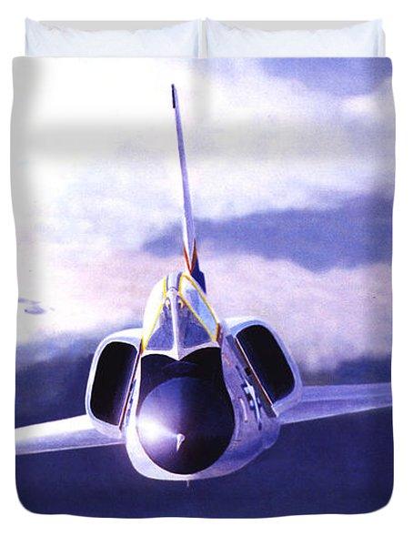 F-106a Head-on Duvet Cover
