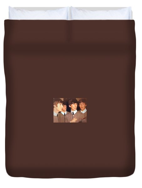 Fab Beatles Duvet Cover