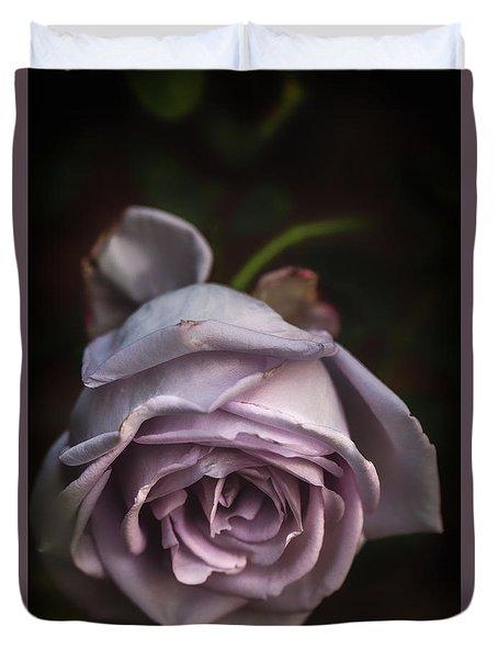 Fading Bloom Duvet Cover