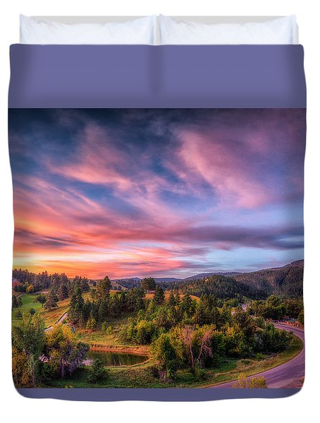 Fairytale Morning Duvet Cover