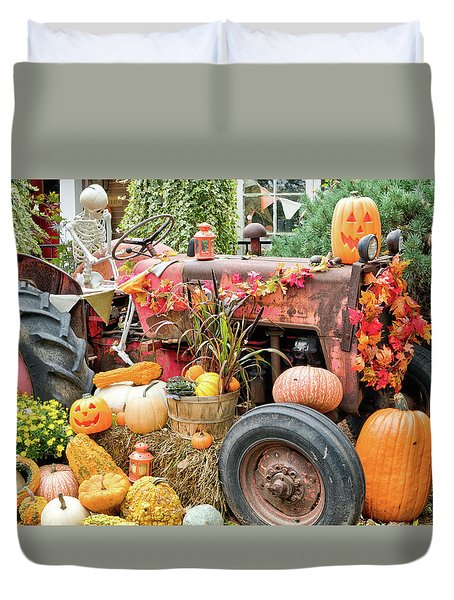 Fall Decor Duvet Cover