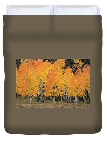 Fall Has Arrived Duvet Cover