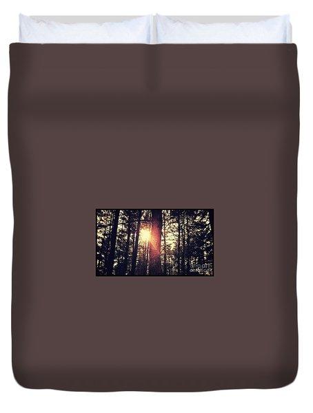 Fall Of Light Duvet Cover