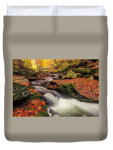 Fall Power Duvet Cover