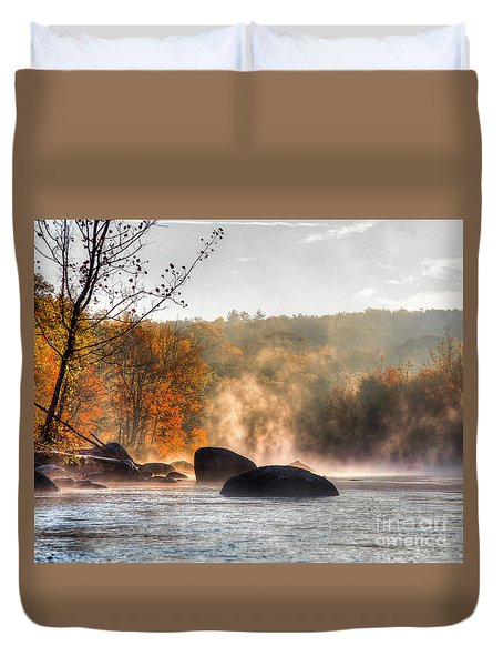 Fall Spirits Duvet Cover
