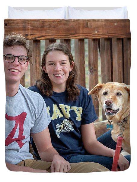 Family Dog Duvet Cover