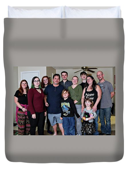 Family2 Duvet Cover