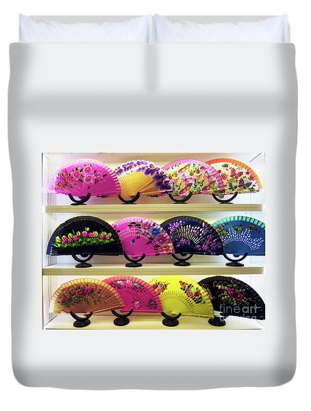Fanned Out Duvet Cover