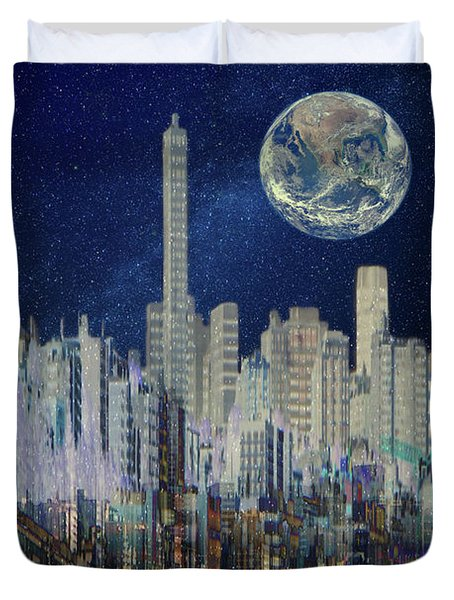 Of Another World Duvet Cover