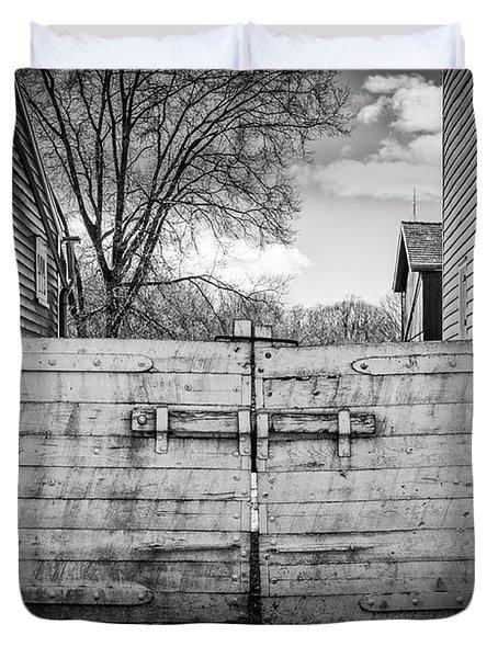 Farm Gate Duvet Cover