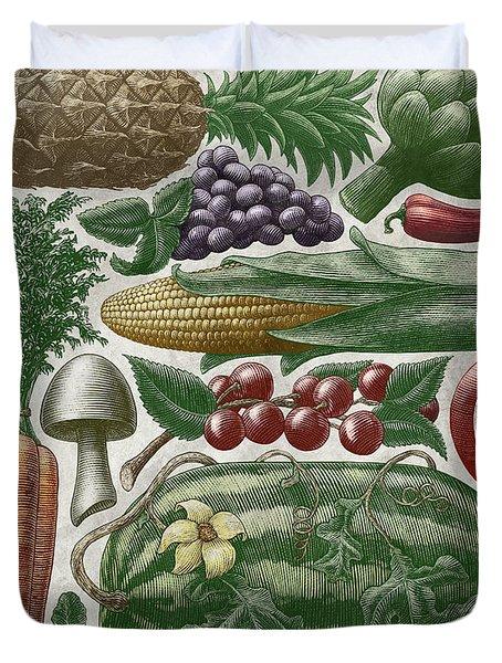 Farmer's Market - Color Duvet Cover
