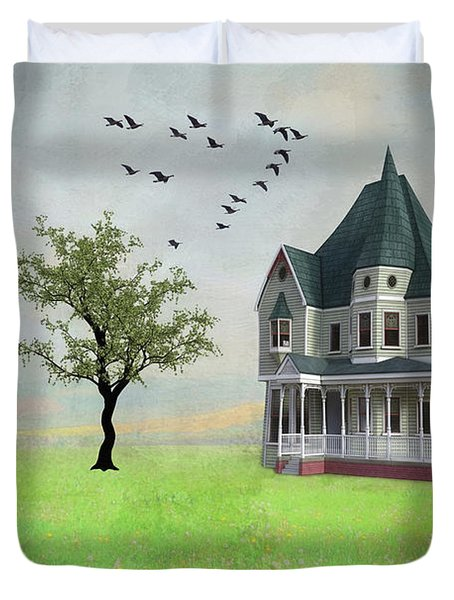 In The Heart Of The Country Duvet Cover