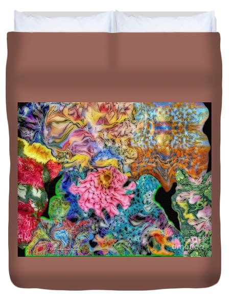 Fascinating Color Duvet Cover
