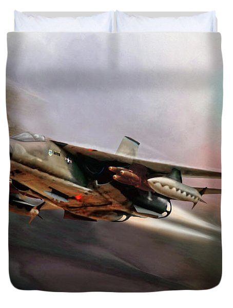 Fast And Furious Duvet Cover