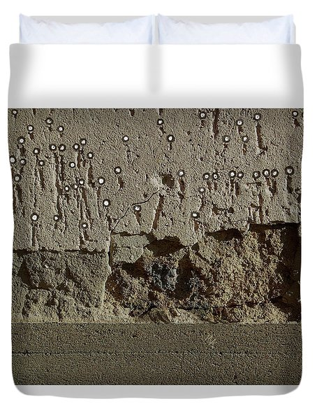 Duvet Cover featuring the digital art Fat Animal by Attila Meszlenyi