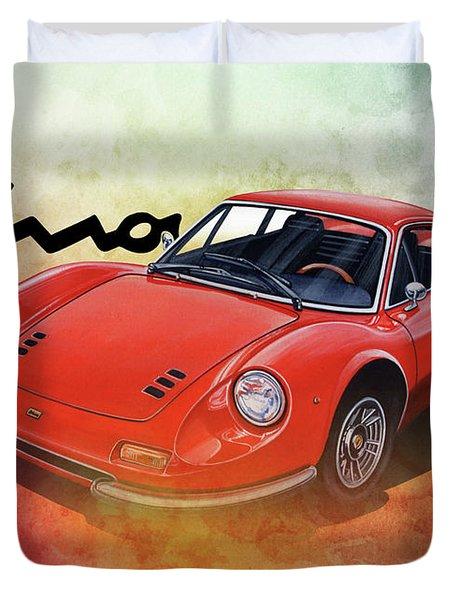 Ferrari Dino 246 Duvet Cover