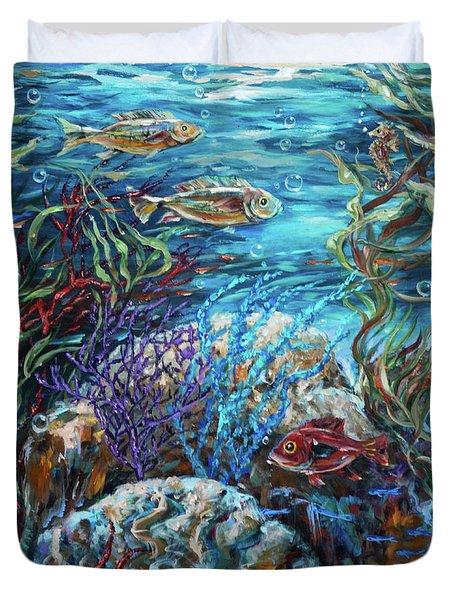 Festive Reef Duvet Cover