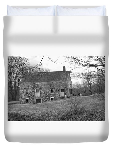Smith's Store On The Hill - Waterloo Village Duvet Cover