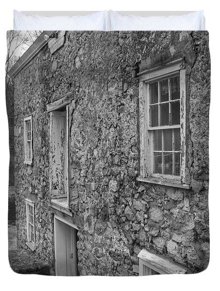 Fieldstone Workshop - Waterloo Village Duvet Cover
