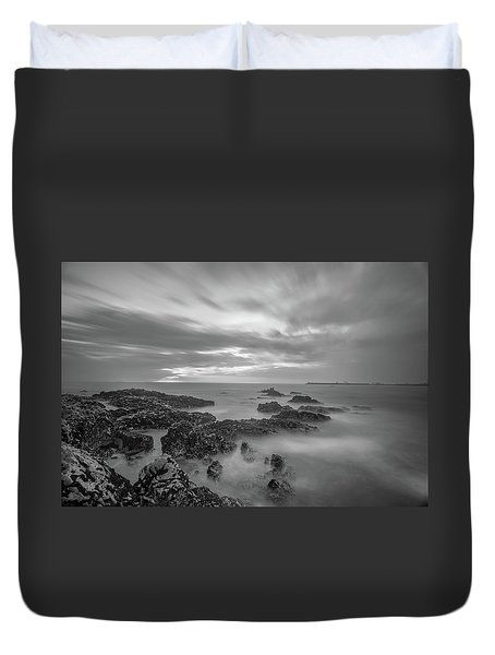 Duvet Cover featuring the photograph Fine Art Of The Sea by Bruno Rosa