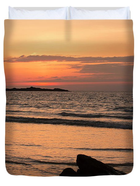 Fine Art Sunset Collection Duvet Cover