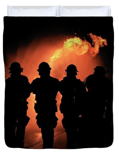 Fire Dragon Duvet Cover