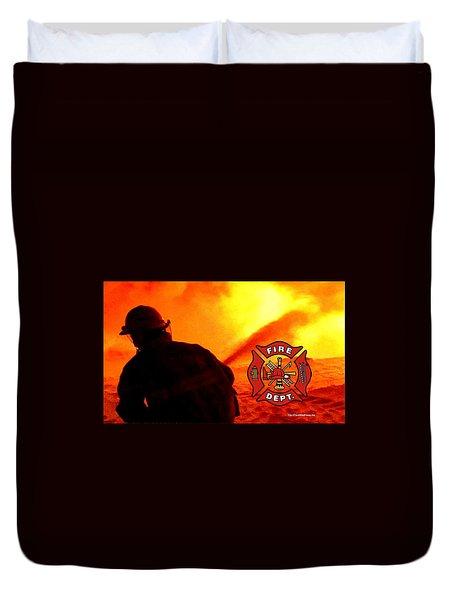 Fire Fighting 6 Duvet Cover