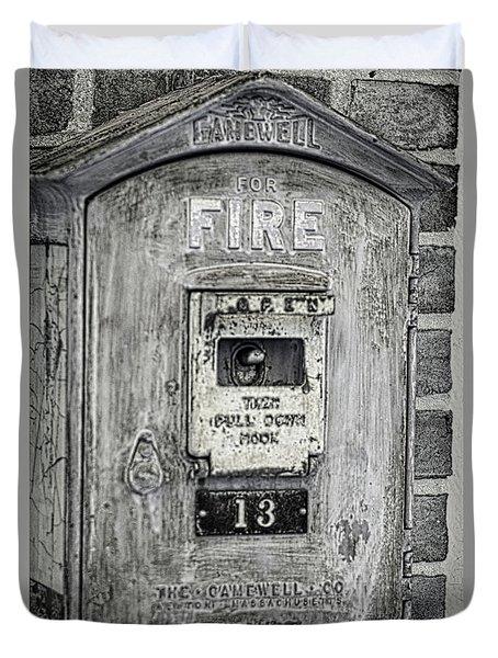 Firebox Duvet Cover