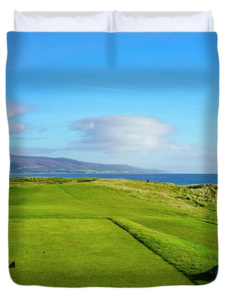 First Tee At Brora Golf Club, Moray Duvet Cover