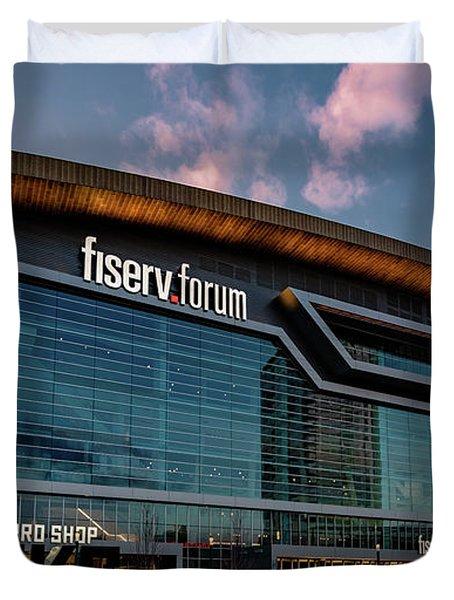 Fiserv.forum Duvet Cover