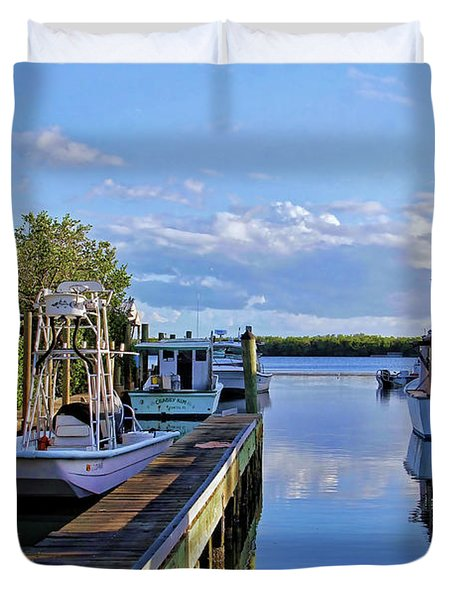 Fisherman's Rest Duvet Cover