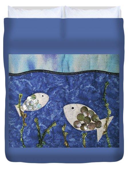 Fishy Fishy Duvet Cover