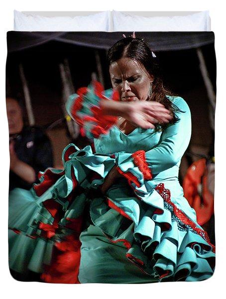 Flamenco 41 Duvet Cover