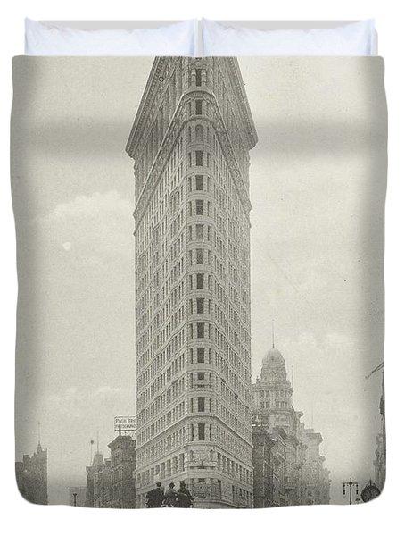 Flatiron Building Fuller Building, Hoek 23rd Street, Fifth Avenue En Broadway, New York City, Unknow Duvet Cover