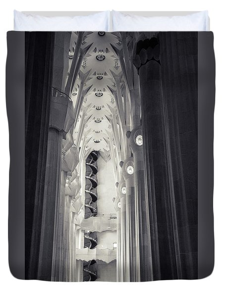 Duvet Cover featuring the photograph Flights Of Fancy 1 by Alex Lapidus