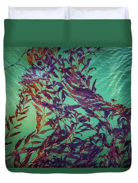 Floatin Kelp I Color Duvet Cover