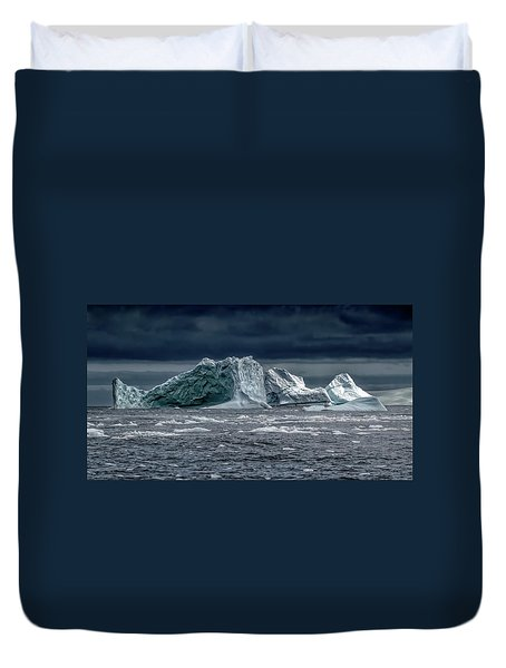 Floating Mountains Duvet Cover