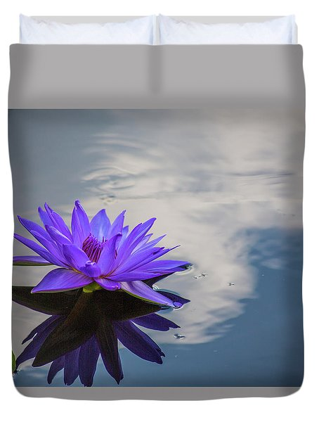 Floating On A Cloud Duvet Cover