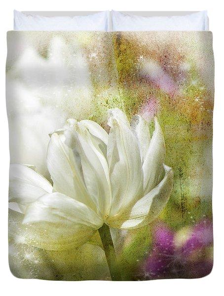 Floral Dust Duvet Cover