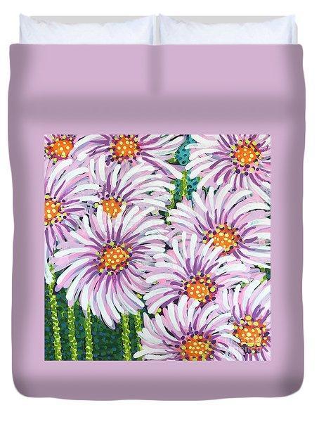 Floral Whimsy 1 Duvet Cover