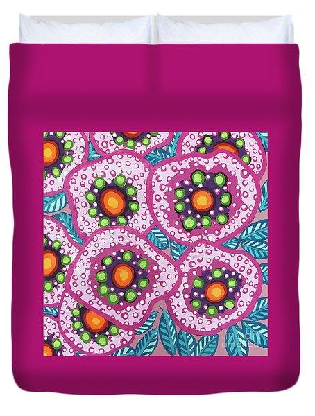 Floral Whimsy 10 Duvet Cover
