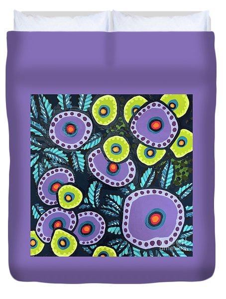 Floral Whimsy 12 Duvet Cover